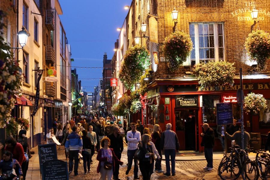 Dublin est une belle ville au cœur de l'Irlande