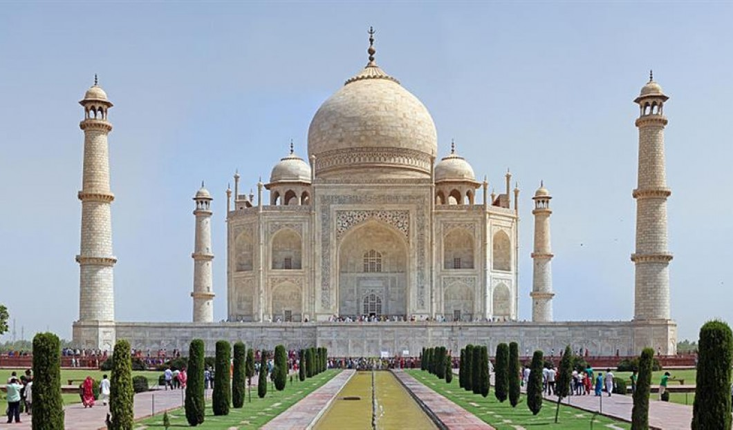 10) Taj Mahal, Agra, Inde