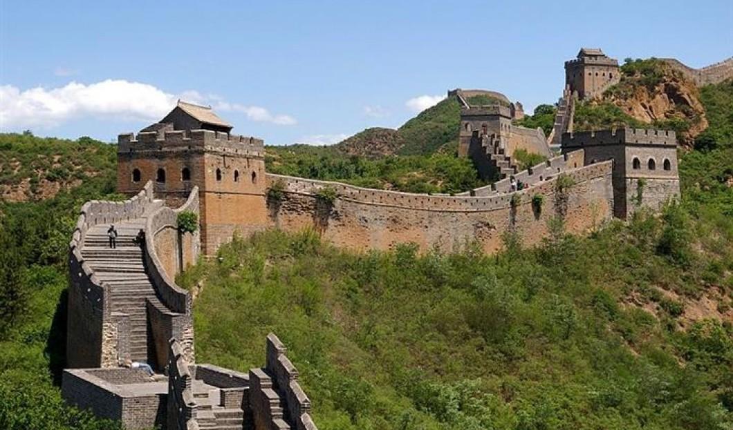 2) La Grande Muraille de Chine, Chine
