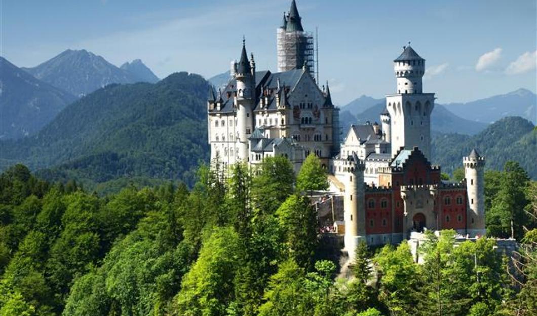 Château de Neuschwanstein, Allemagne.