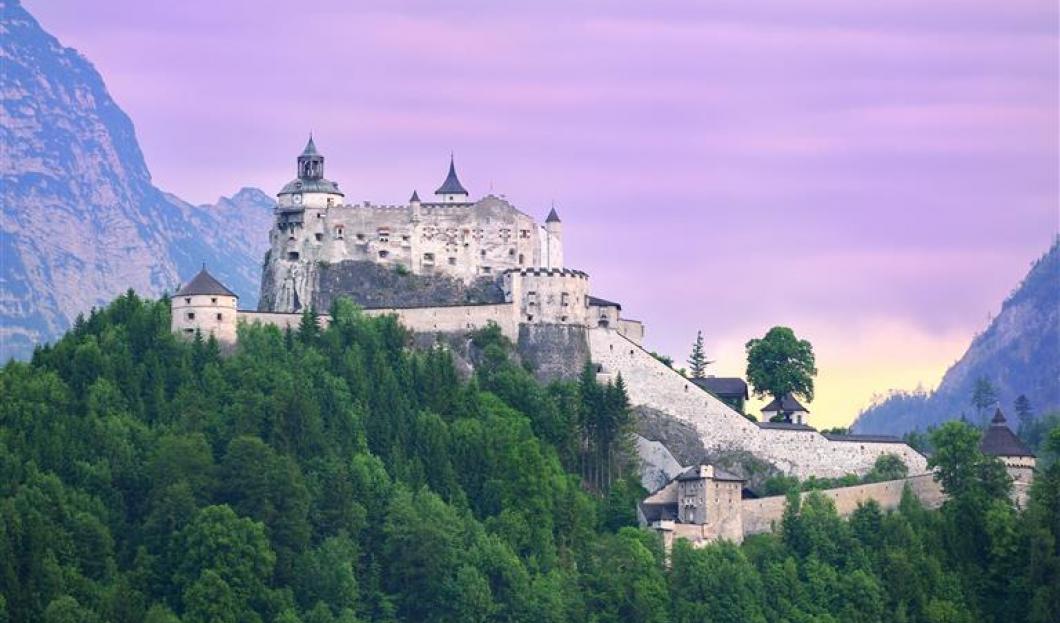 Château Hohenwerfen, Autriche.