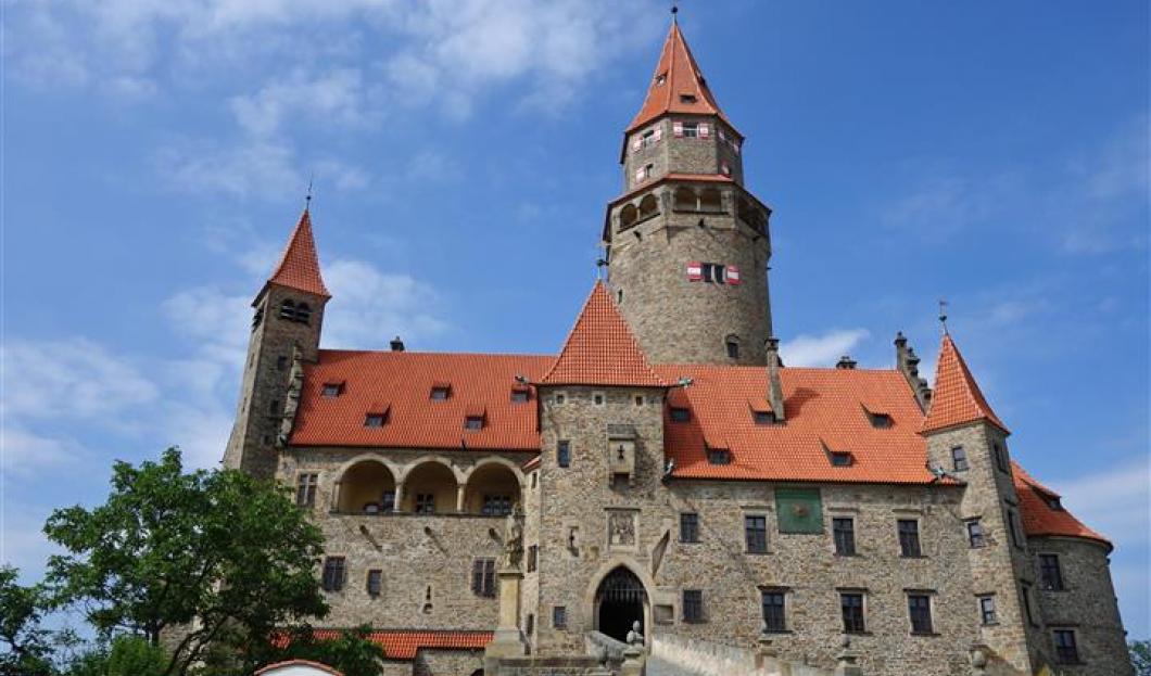 Château Bouzov, République tchèque.
