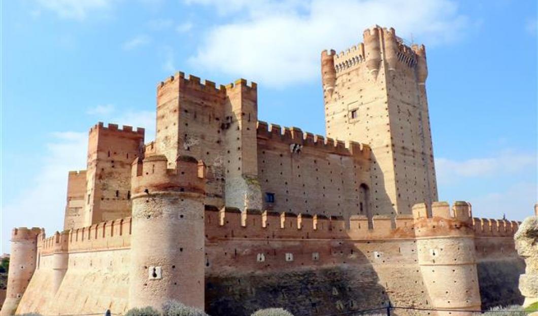 Castillo de la Mota, Espagne.