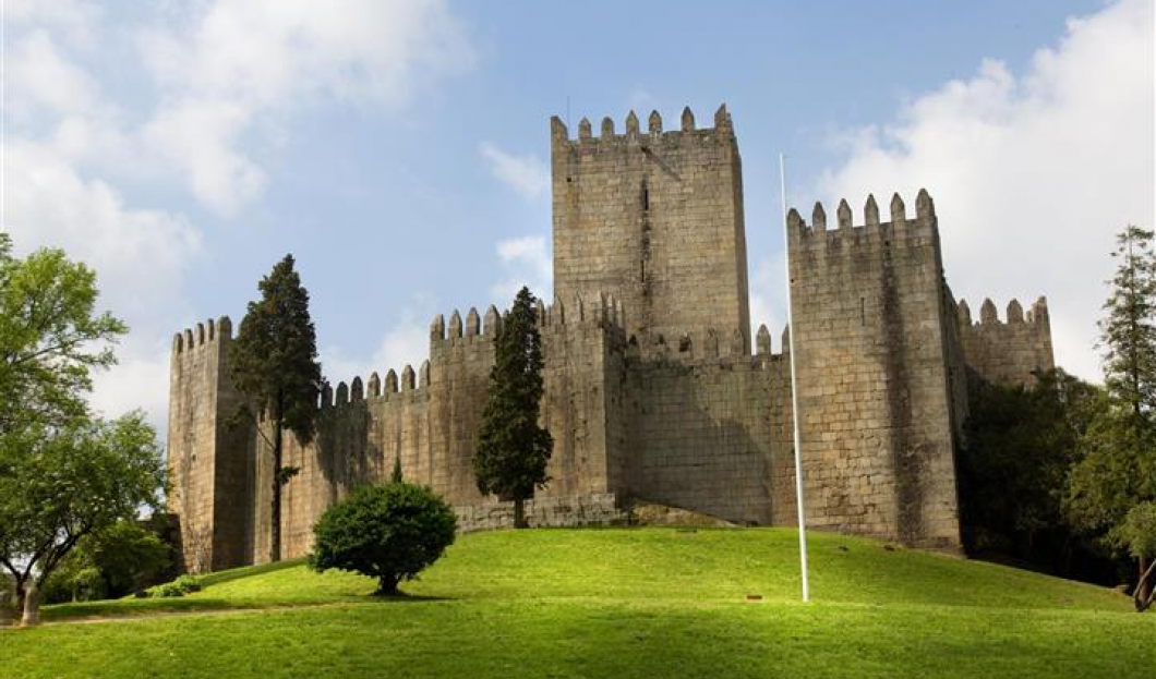 Castelo De Guimaraes, Portugal.