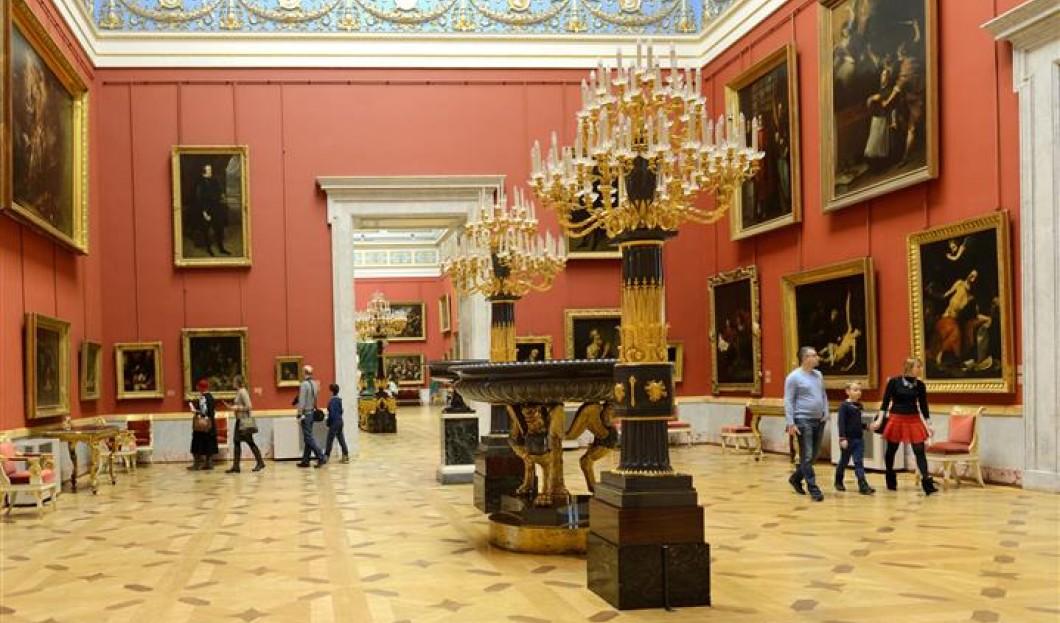 1) Le Musée de l'Ermitage