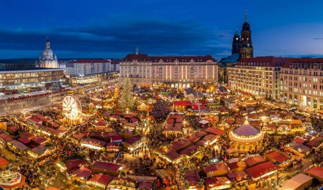 Le Striezelmarkt de Dresden